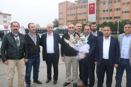 SENDİKA YÖNETİMİMİZDEN GEDİK KAYNAK'A ZİYARET